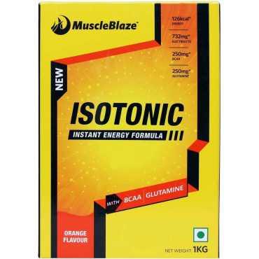 MuscleBlaze Isotonic Instant Energy Formula (1kg, Orange) - Orange