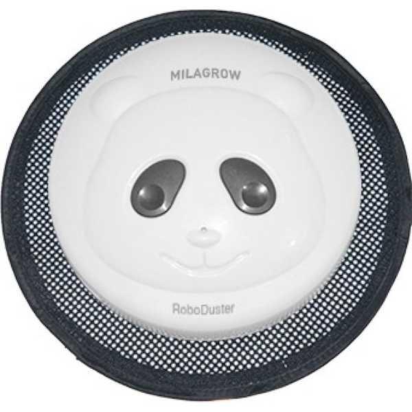 Milagrow RoboDuster Panda Robotic Floor Cleaner - White | Silver