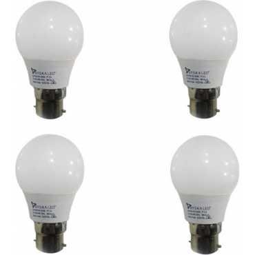 Syska 3 W B22 LED Bulb (White, pack of 4) - White