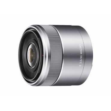 Sony E30mm F3.5 Macro E-mount Lens - Silver