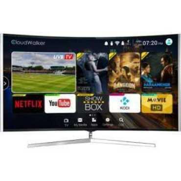 Cloudwalker CLOUD TV 65SU-C 65 inch UHD Curved Smart LED TV