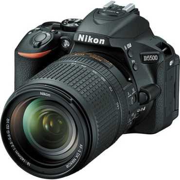 Nikon D5500 (with AF-S 18 -140 VR Kit Lens) DSLR - Black