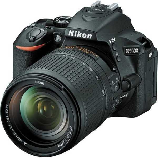 Nikon D5500 (with AF-S 18 -140 VR Kit Lens) DSLR