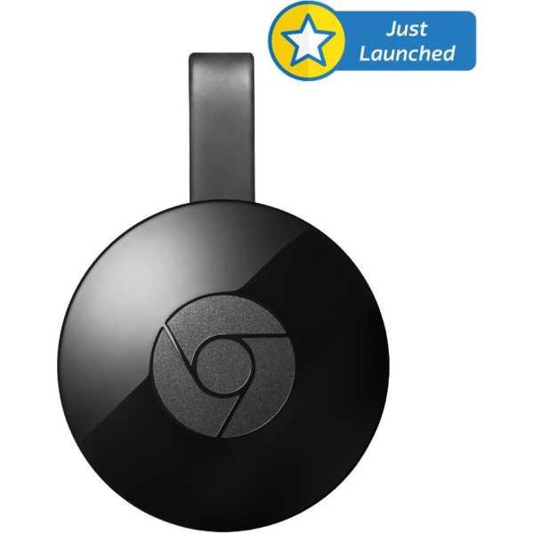 Google Chromecast 2 Media Streaming Device - Black