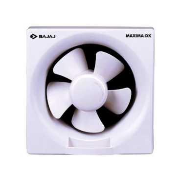 Bajaj Maxima DX 5 Blade (250mm) Exhaust Fan - White