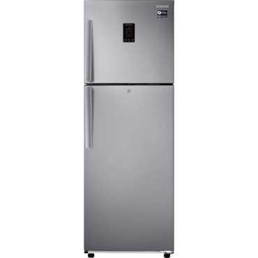 Samsung RT34M5418SL/HL 321 L 3 Star Inverter Frost Free Double Door Refrigerator - Silver
