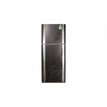 LG GN-B492GGCH 407 Litre Frost Free Double Door  Refrigerator - Black