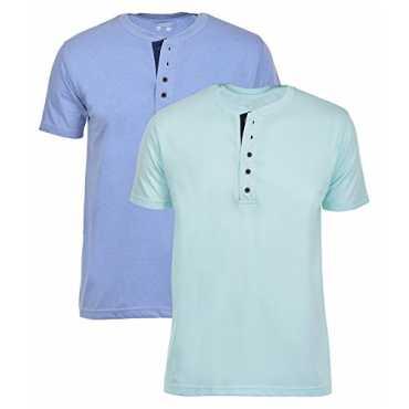 Men s Cotton henley T-Shirts