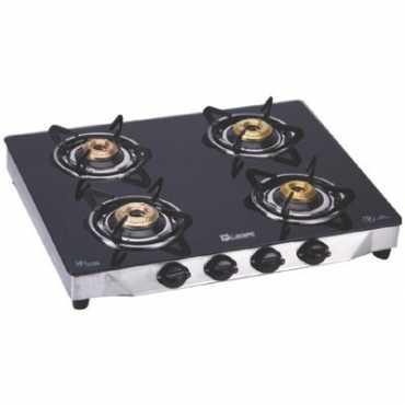 Quba G402 Manual Gas Cooktop (4 Burner) - Black