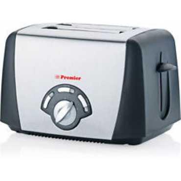 Premier PT-SB 800W Pop Up Toaster - Silver