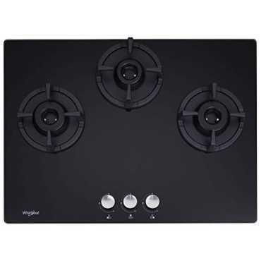 Whirlpool Elite HD 703 Brass AI Gas Cooktop (3 Burners)