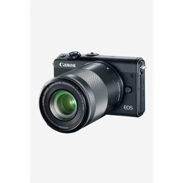 Canon EOS M100 (15-45mm Lens) Mirrorless Camera - Black