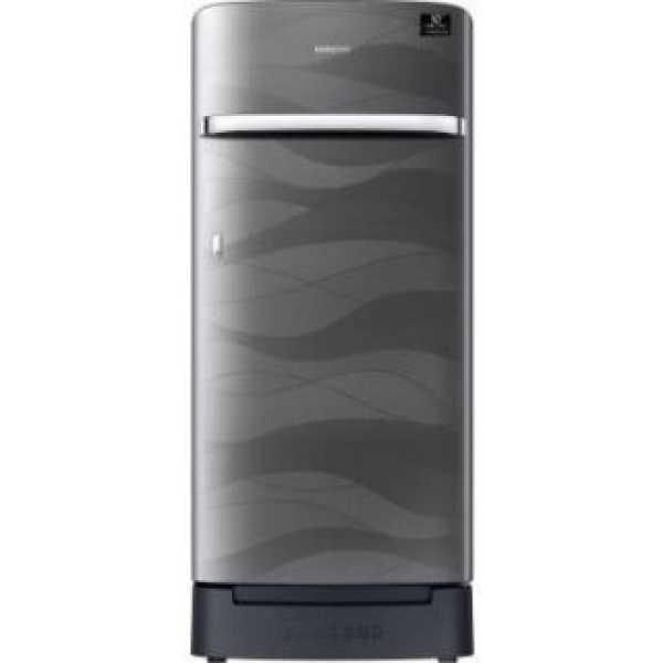 Samsung RR21T2H2XNV 198 L 4 Star Inverter Direct Cool Single Door Refrigerator