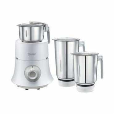 Prestige Teon 750W Mixer Grinder (3 Jars) - White