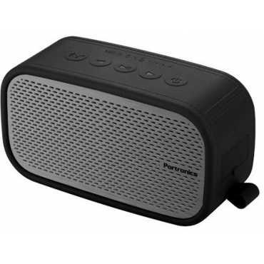 Portronics Posh Wireless Speaker - Black | Grey
