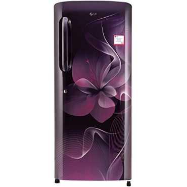 LG GL-B241ASDX/APDX 235 L 4 Star Inverter Direct Cool Single Door Refrigerator (Dazzle) - Purple Dazzle   Purple