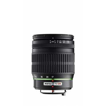 Pentax K-Mount SMC DA 17-70mm F/4 AL [IF] SDM Zoom Lens for Pentax DSLR Camera - Black