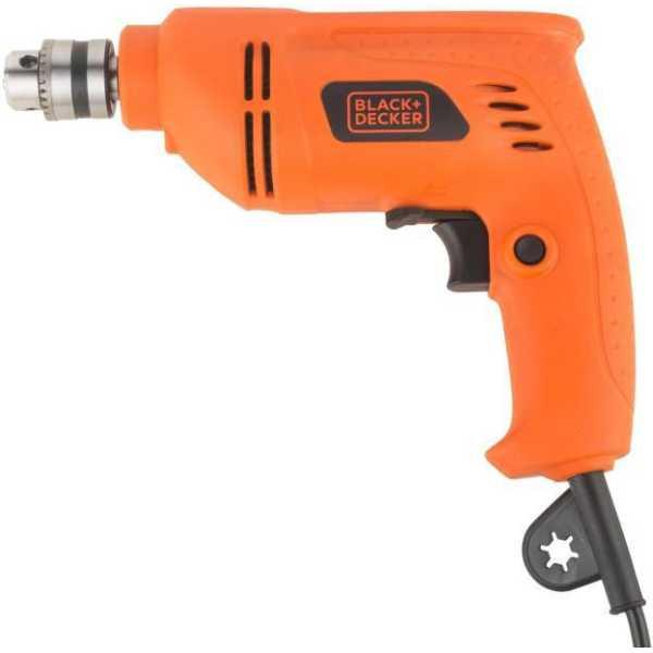 Black & Decker BD65RD-IN Pistol Grip Drill(6.5mm)
