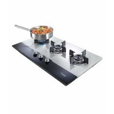 Prestige Hobtop PHT03 AI Gas Cooktop (3 Burner) - Black