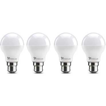 Syska SSK-SRL-7W 7W B22 LED Bulb (White, Pack of 4) - White