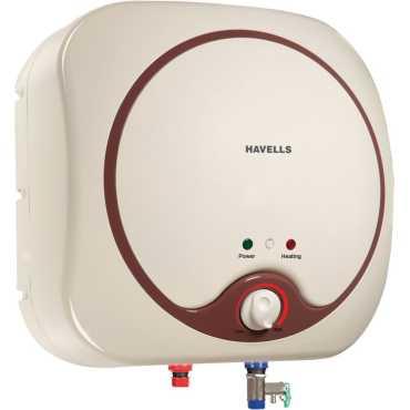 Havells Quatro 10 Litres Storage Water Heater - Brown
