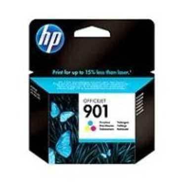HP 901 Tricolor Ink Cartridger - Black