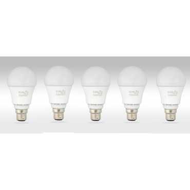 Sunlux 8W B22 LED Bulb White Pack of 5