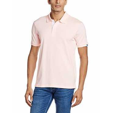 Symbol Men s Polo T-Shirt SS16PLSP10_Medium_Pink