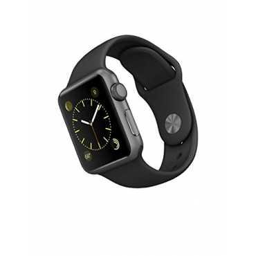 Apple Watch Sport Space Grey Aluminium Case Black Sport Band 38mm