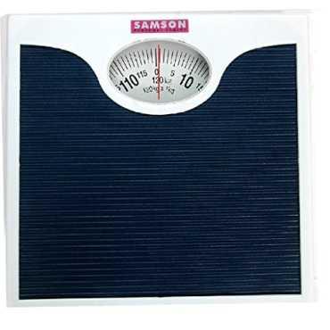 Samso SBR-9313 Mechanical Weighing Scale - Grey   Blue