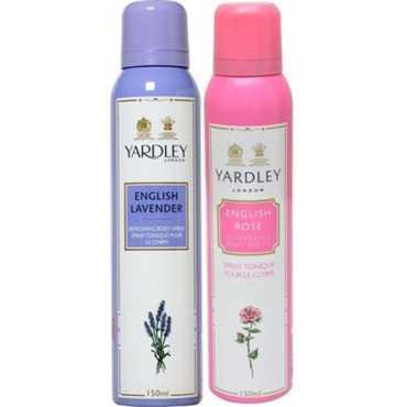 Yardley  English Lavender, English Rose Deo (Set of 2)