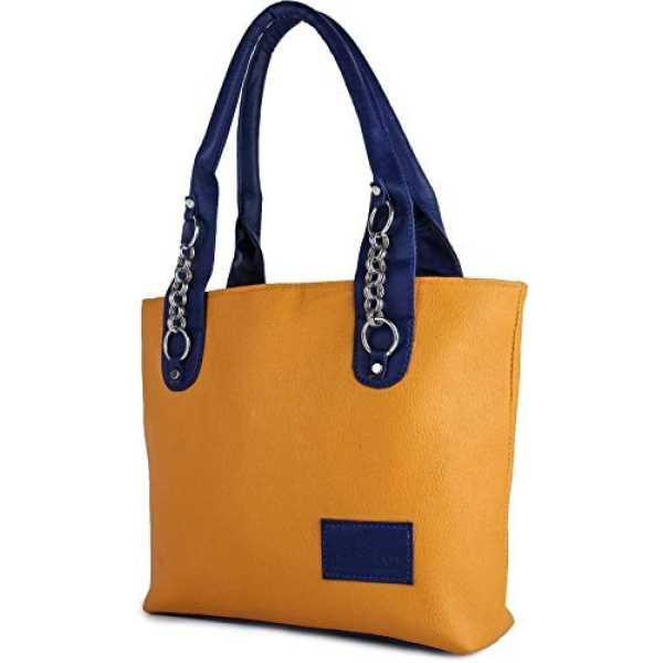 Taps Fashion Women s Handbag Mustard Sln-4