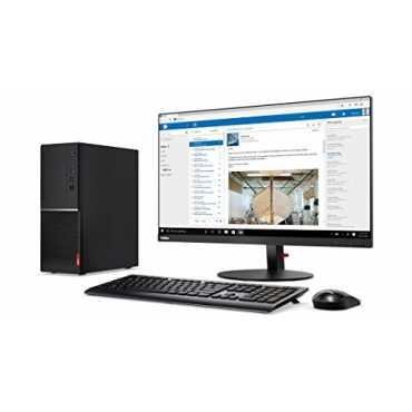 Lenovo V520 Slim Tower(10NNA01XIG) (Intel i7 7Th Gen,4GB,1TB,WIn 10 Pro) Desktop (With Monitor)
