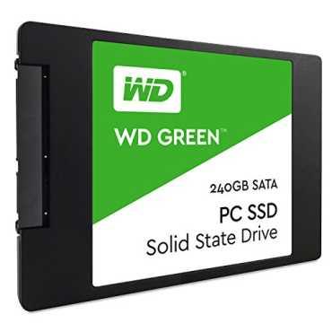 WD Green (WDS240G1G0A) 240GB Internal SSD - Green