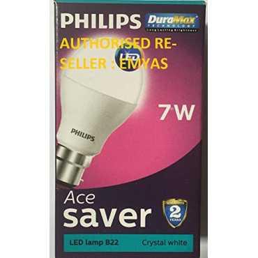 Philips 7 W B22 LED Bulb (Cool Day Light, Pack of 2)
