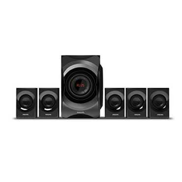 Philips SPA8000B/94 5.1 Multimedia Speaker System - Black