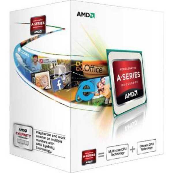 AMD 3.4GHz FM2 A4-5300 Processor