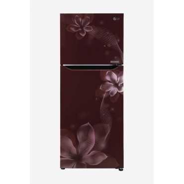 LG GL-N292SPOR 260 L 2 Star Inverter Frost Free Double Door Refrigerator (Orchid)