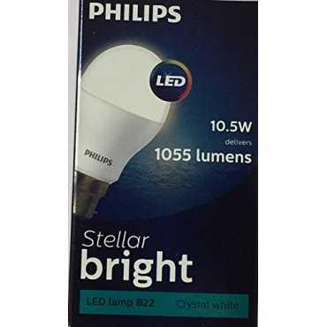 Philips Stellar Bright 10.5W LED Bulb (Cool Day Light) - White