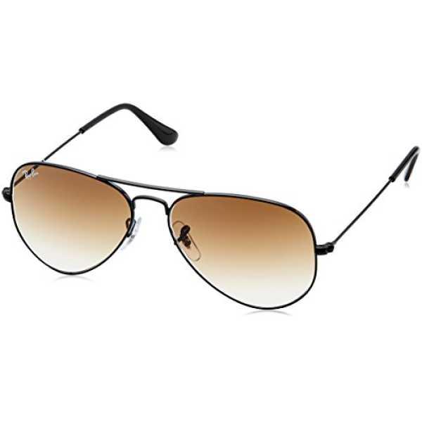 Ray-Ban Aviator Sunglasses (Brown Gradient) (RB3025|002/5155)