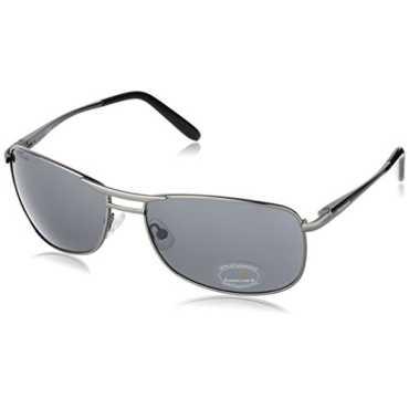 Semi-Rimless Men Sunglasses M032BK2 72 millimeters Black