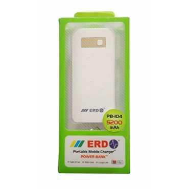 ERD PB-105 5200mAh Power Bank - White