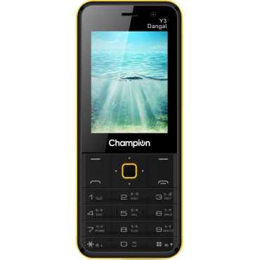 Champion Y3 Dangal - Black | Yellow