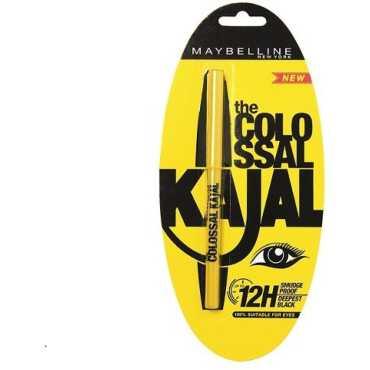 Maybelline The Colossal Kajal (Black) - Black