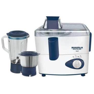 Maharaja Whiteline JMG Real 450W Juicer Mixer Grinder (2 Jars) - Blue
