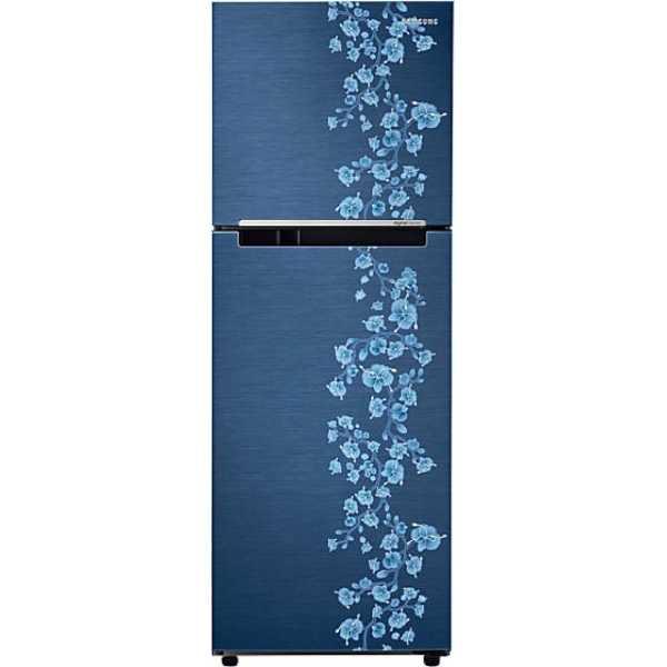 Samsung RT27JARZEPX/TL 253 Litres Double Door Refrigerator (Orcherry Pebble)