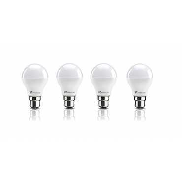 Syska 8W B22 LED Bulb Cool Day Light Pack of 4