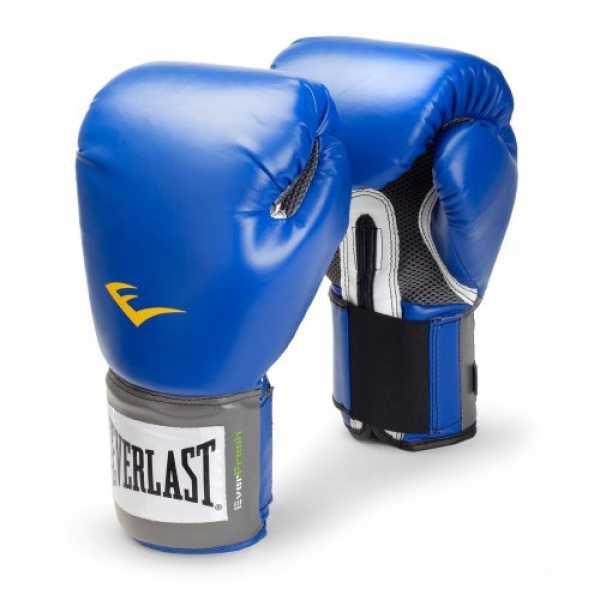 Everlast 1200010 Pro Style Training Gloves 12Oz - Blue