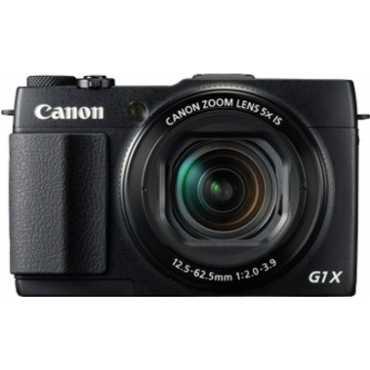 Canon PowerShot G1X (Mark II) Digital Camera - Black