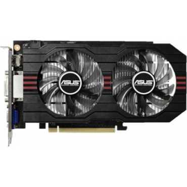 Asus NVIDIA GeForce GTX 750 TI OC (GTX750TI-OC-2GD5) 2GB GDDR5 Graphics Card - Black